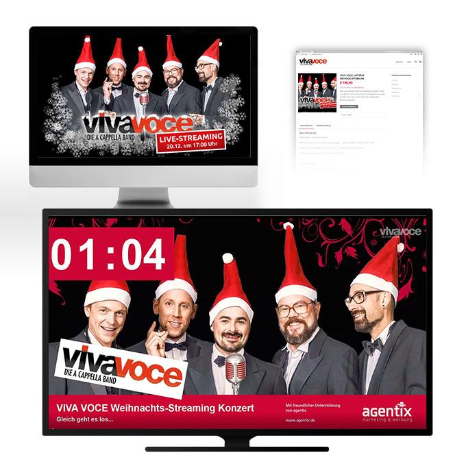 Streaming Platform mit Shop-Anbindung VivaVoce Ansbach