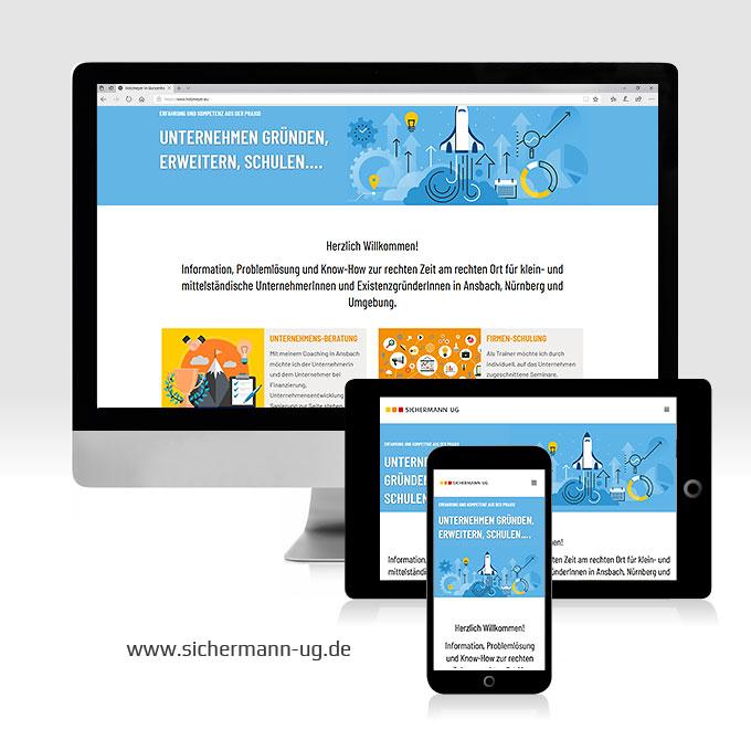 Webdesign Sichermann UG Ansbach