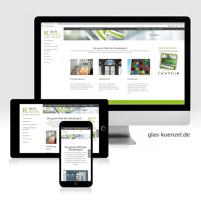 Webdesign Glas Künzel Bad Windsheim