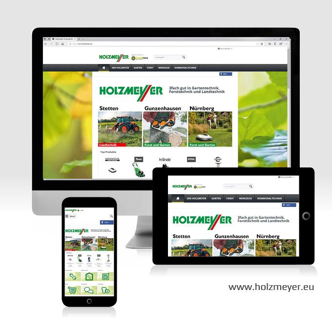 Webdesign Shopware Holzmeyer Gunzenhausen